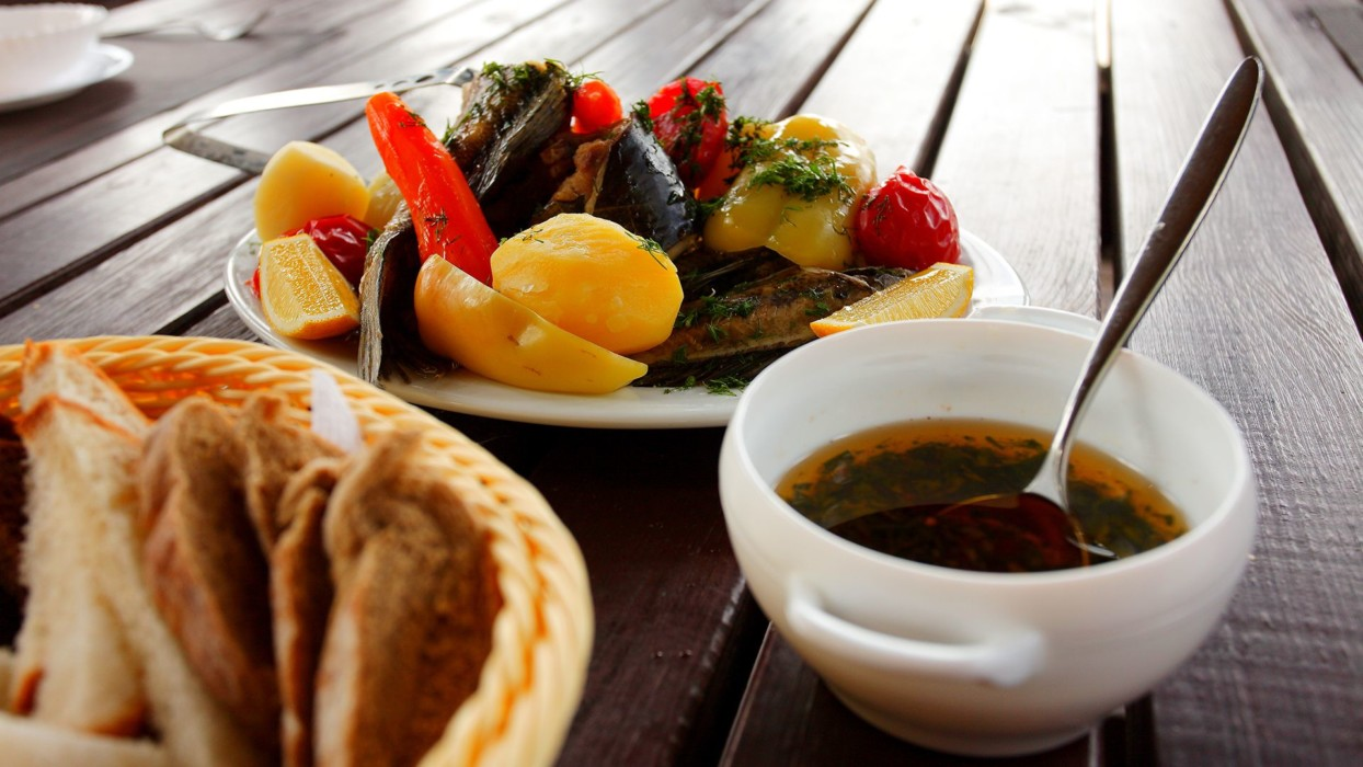 Ресторан на берегу Днестра - фото 19